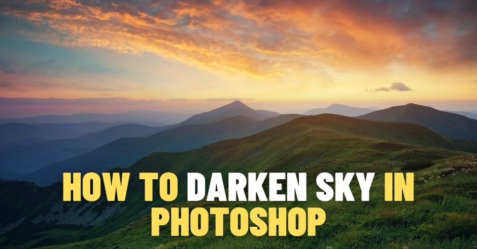 Creating a Dark Blue Sky in Photoshop in Under One Minute 1