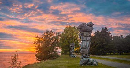 Autumn Sky on Fire (Montreal)