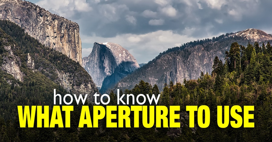 How to Know What Aperture to Use 1