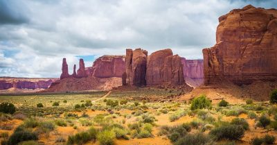 Monument Valley Layered View (Arizona)