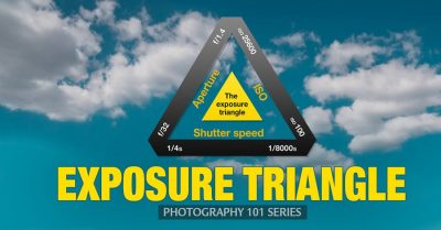 Exposure Triangle: making sense of aperture, shutter speed & ISO