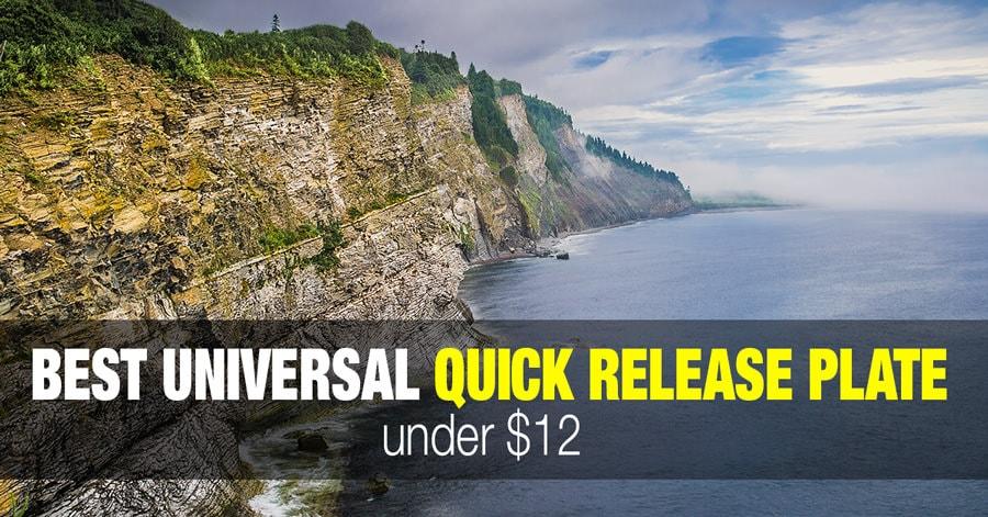 Best Universal Camera Tripod Quick Release Plate - Under $12