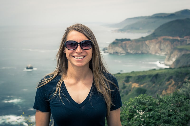 Travel portrait edited with free Clear Face Lightroom preset