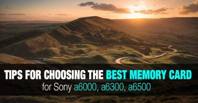 Best SD Memory Cards for Sony a6000, a6100