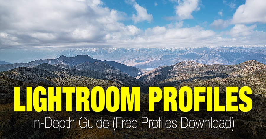 Lightroom Profiles - In-Depth Guide (Free Profiles)