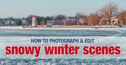 Snow Photography Tips: How to Photograph and Edit Snowy Scenes