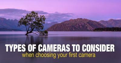 Types of digital cameras used in photography
