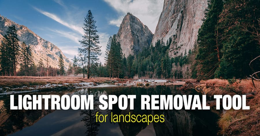 Lightroom Spot Removal Tool When Editing Landscapes 1
