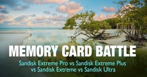 Memory Card Battle: Sandisk Extreme Pro vs Extreme Plus vs Extreme vs Ultra