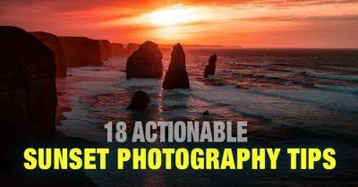 Sunset/Sunrise Photography Tips