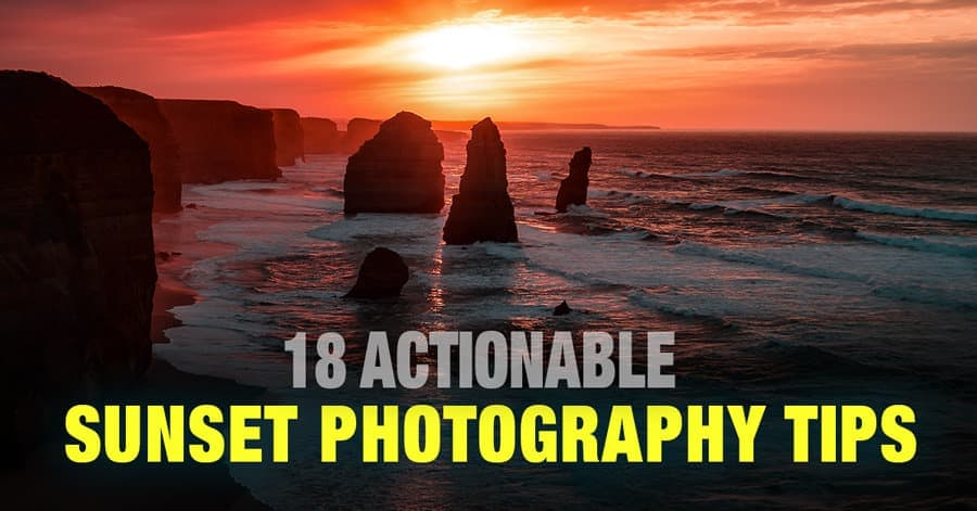 Sunset Photography Tips - 18 Actionable Tips for Creating Stunning Photos 1