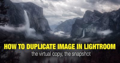 How to Duplicate Image in Lightroom: Virtual Copies and Snapshots Methods