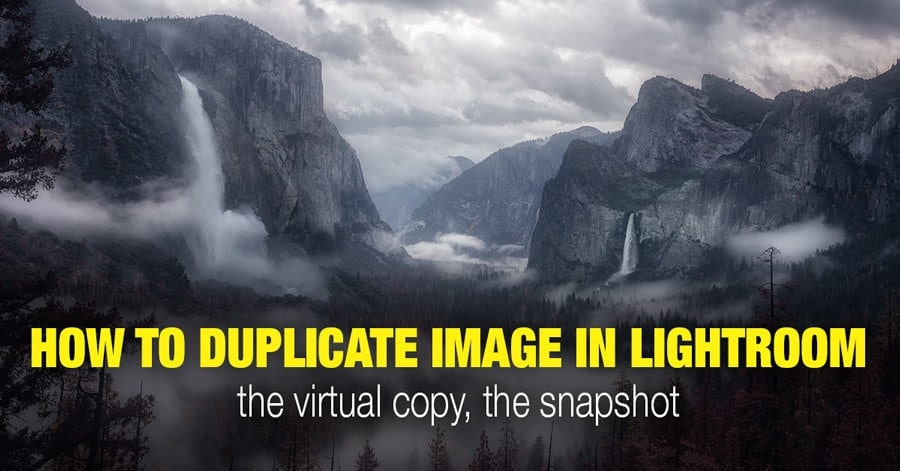 How to duplicate image in Lightroom