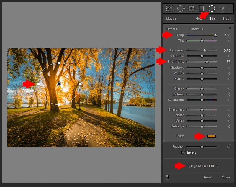 Lightroom Range Mask: Advanced Luminosity and Color Masking in Lightroom 9
