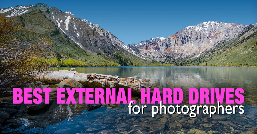 Selecting external Hard Drive for travel photographers