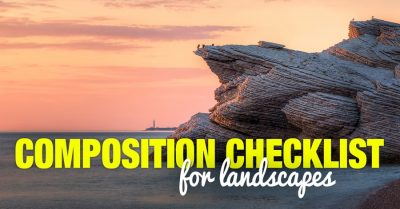 Composition Checklist for Landscapes