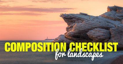 The Composition Checklist for Landscapes
