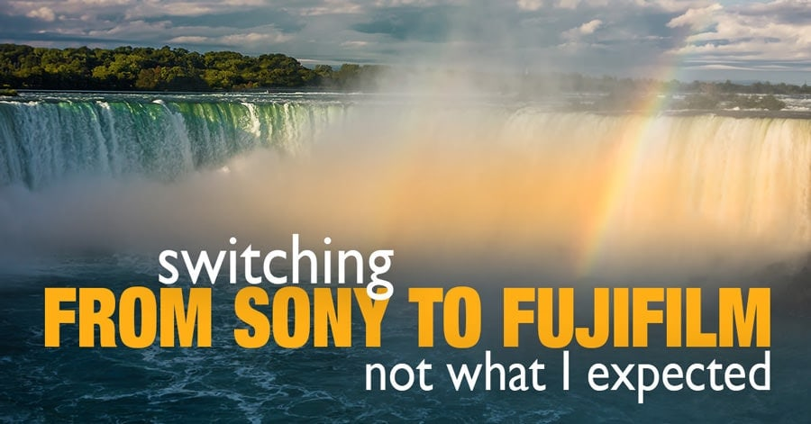 Fuji vs Sony. Switching from Sony to Fujifilm. Not What I Expected At All
