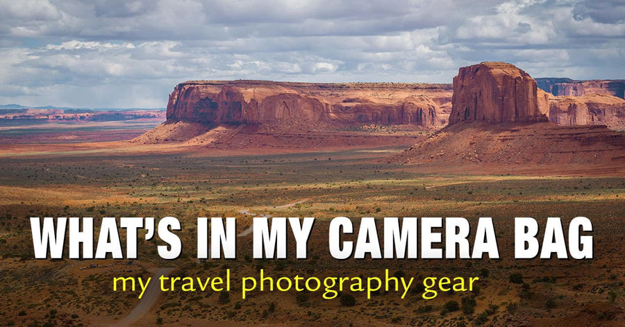 What's In My Camera Bag - My Travel Photography Gear 1