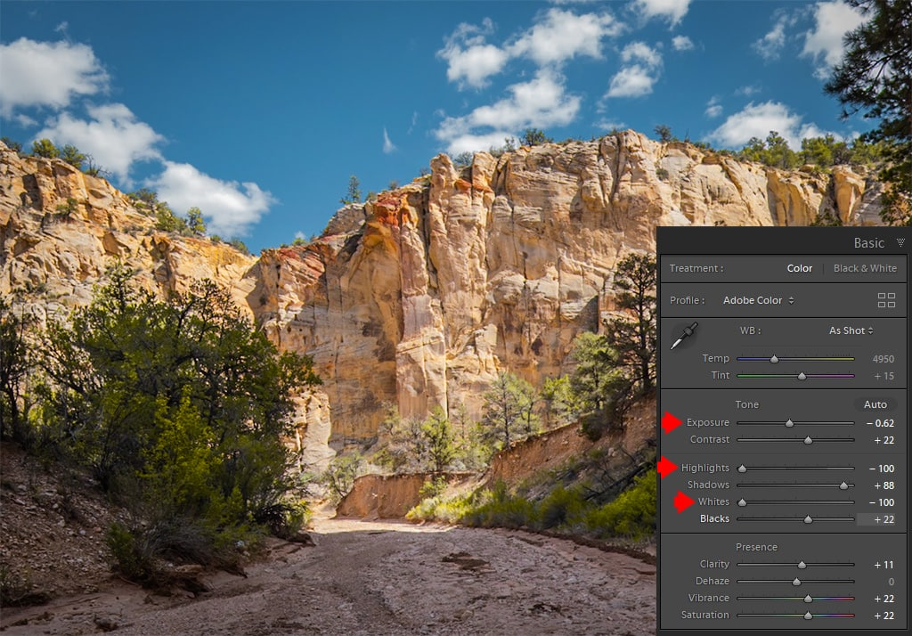 How to Fix an Overexposed Photo in Lightroom 7