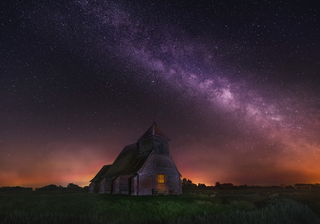 the Milky Way shot with the ultrawide lens