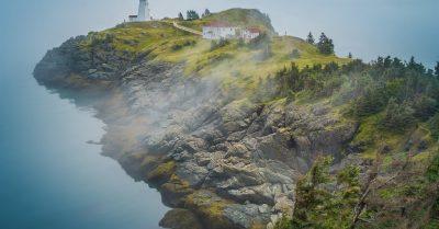 Swallowtail Light in the Fog (New Brunswick)