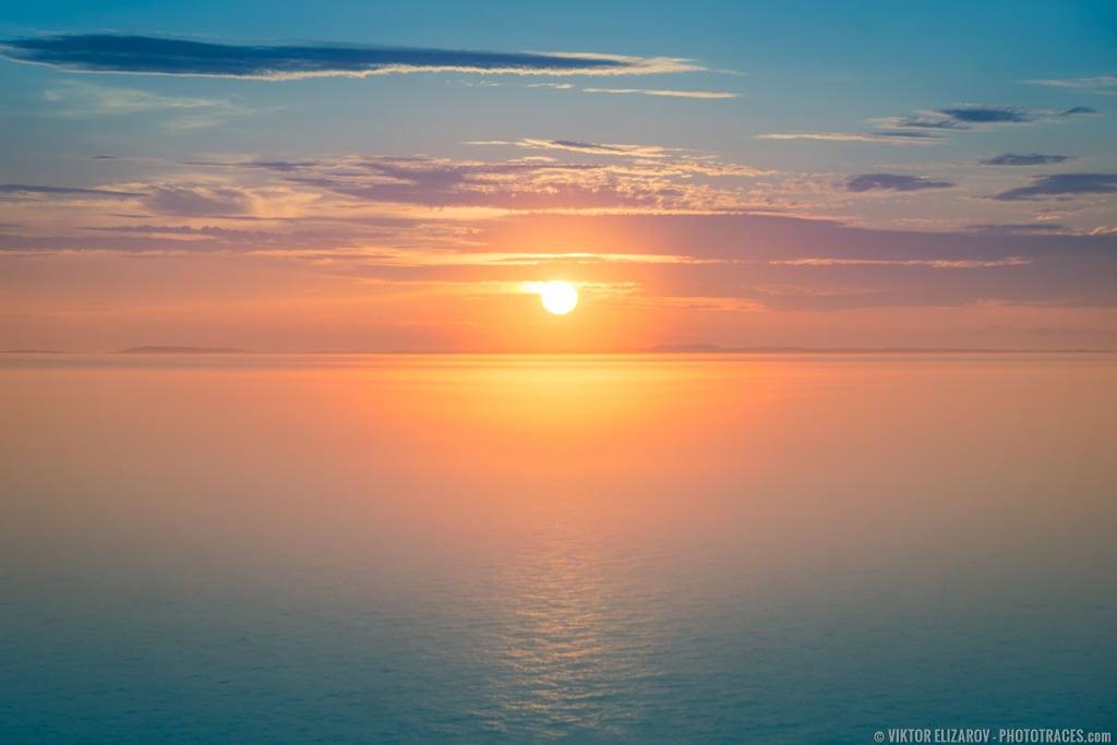 Grand Manan Island - Sunset at Bay of Fundy