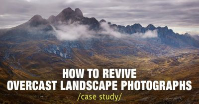 Case Study: How to Revive Overcast Landscape Photographs