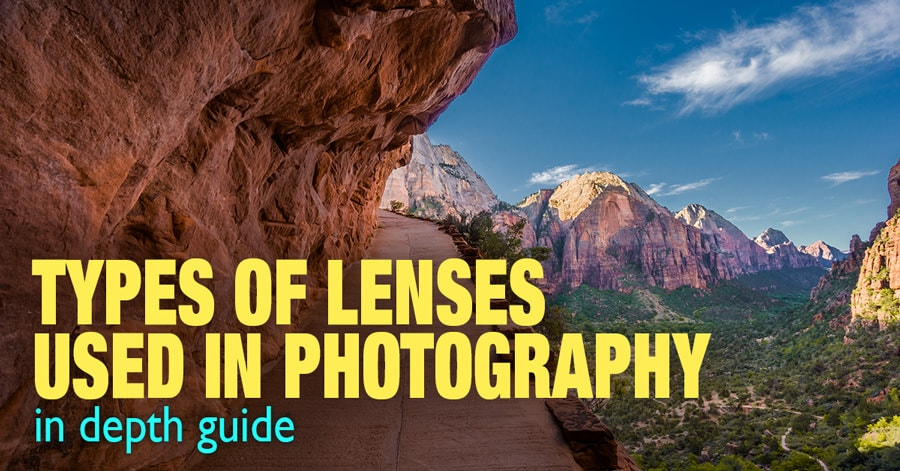 Types of Camera Lenses Used in Photography – In Depth Guide