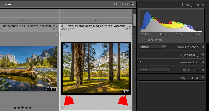 How to Rotate Image in Lightroom (5 Methods) 4