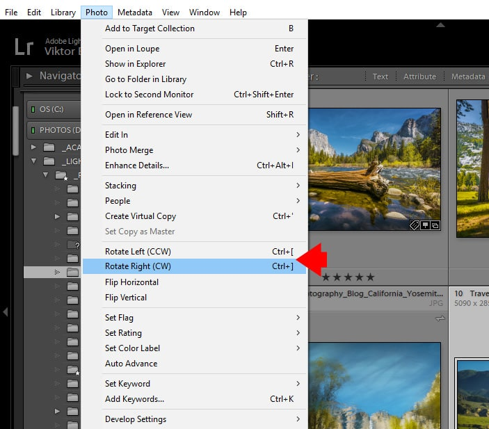How to Rotate Image in Lightroom (5 Methods) 2