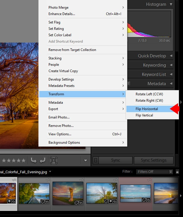 How to Rotate Image in Lightroom (5 Methods) 9