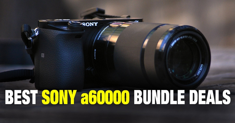 Top 5 Best Value Sony a6000 Bundle Deals