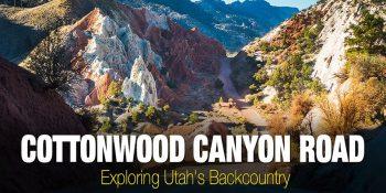 Utah Backcountry – Cottonwood Canyon Road