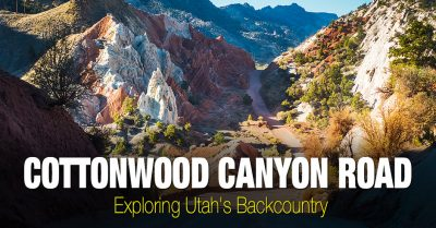 Utah Backcountry – Cottonwood Canyon Road