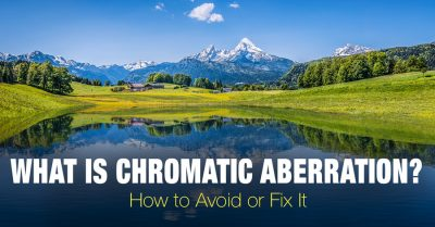 Chromatic aberration and how to deal with it
