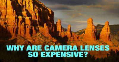 The reason camera lenses so expensive