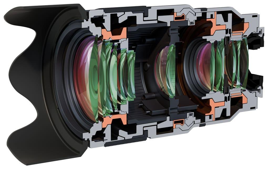 Camera lens design