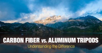 Aluminum vs carbon fiber tripods. Understanding the difference