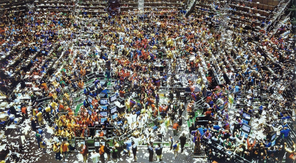 Andreas Gursky, Chicago Board of Trade II
