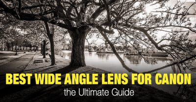 Wide Angle Lens for Canon