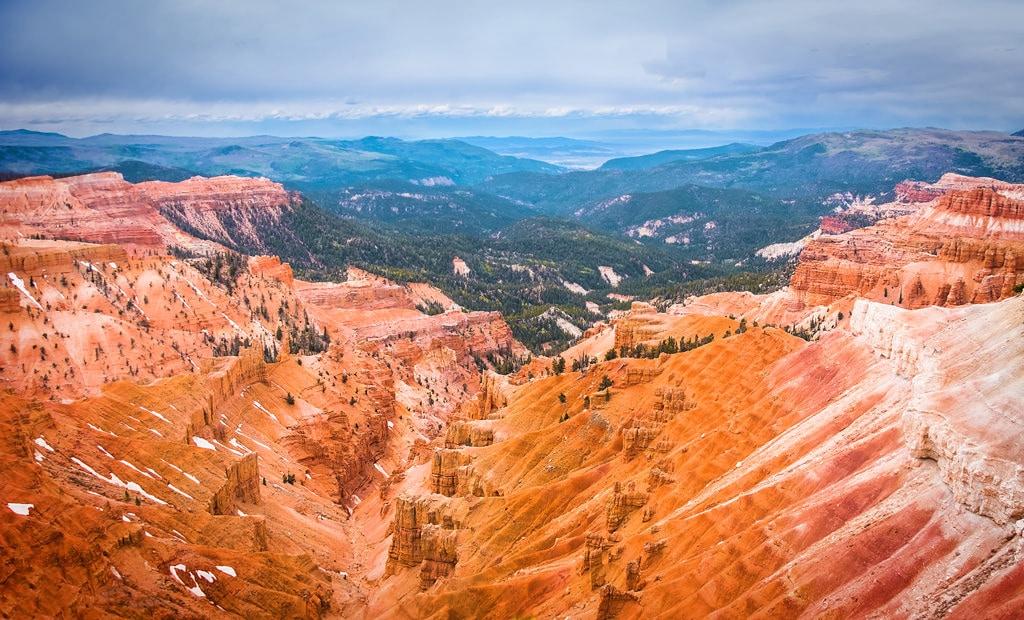 Utah. Cedar Breaks National Monument