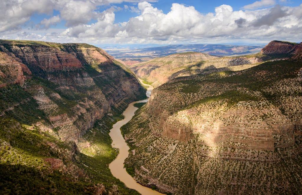Utah/Colorado. Dinosaur National Monument