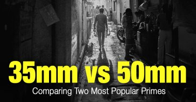 35mm vs 50mm: Difference Explained