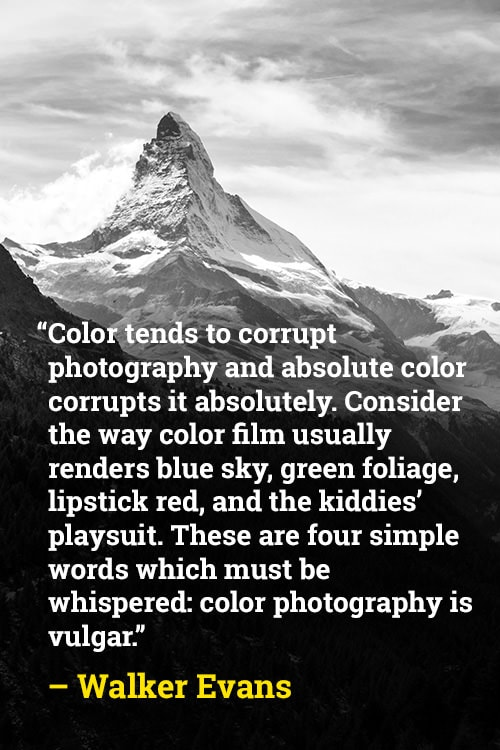 Walker Evans on How Color Can Change Photography