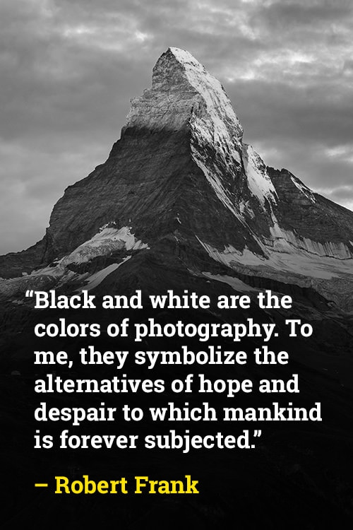 Robert Frank on Symbolism in Black and White
