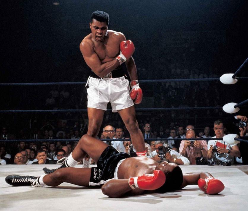 Muhammad Ali vs. Sonny Liston Neil Leifer 1965