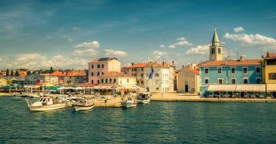From Fazana to Brijuni Island (Croatia)