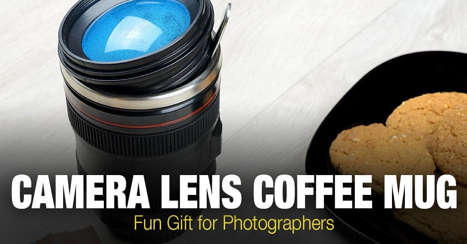 Camera Lens Coffee Mug - Fun Gift for Photographers
