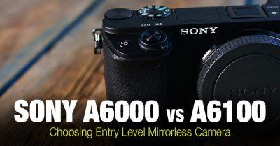 Sony a6000 vs a6100